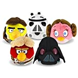 Angry Birds Star Wars Plush Set of 5 Pieces