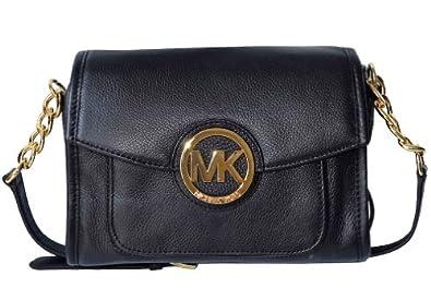 Michael Kors Leather Margo Messenger Shoulder Bag 101