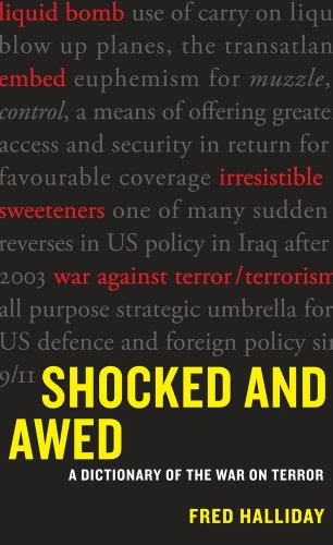 Shocked and Awed: A Dictionary of the War on Terror