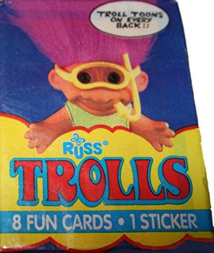 Russ Trolls Trading Cards - 1