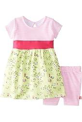 Zutano Baby Girls' My Pony Banded Waist Dress and Bike Short Set