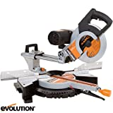 Evolution Rage3-DB 255mm TCT Multipurpose Double Bevel Sliding Mitre Saw 110v