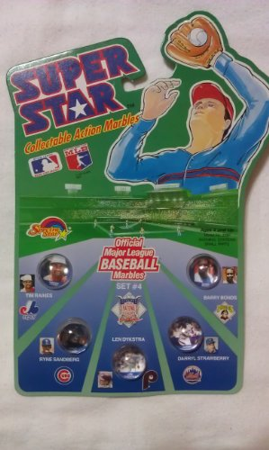 Major League Baseball Super Star Collectible Action Marbles Set #4