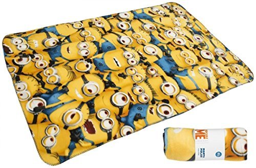 [Character Despicable Me Minions 'Expressions' Panel 100% Polyester Fleece Blank] (Despicable Me Minion Hats)