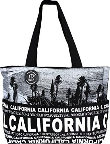 California Tote Bag, California Shopping Bag, California Beach Bag