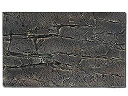 Congo Rock Flexible 3D Aquarium Background 20 x 12 Grey