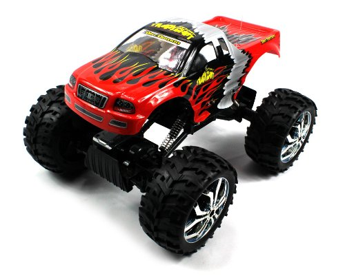 Champion Rock Crawler Electric Rc Truck Off Road 4Wd Four Wheel Drive Huge Size 1:10 Scale Ready To Run Rtr (Colors May Vary)