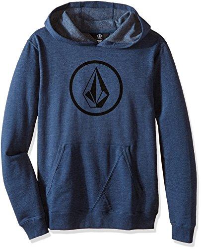 Volcom-Pietra O/P-Felpa, taglia L, colore: blu Smokey