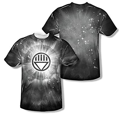 Green Lantern Black Energy All Over Front/Back T-Shirt