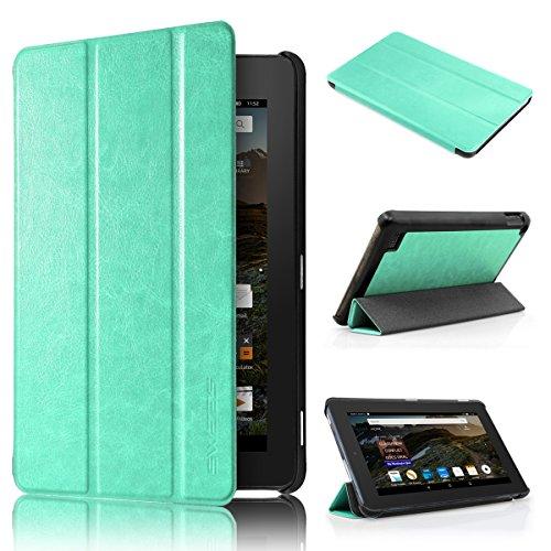 Amazon Fire 7 2015 Custodia - Swees Sottile Pieghevole Cover Case per Amazon Fire 7.0 pollici Display Tablet (5th generazione - modello 2015), Mint Green