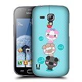 Head Case Climbing Kawaii Three Little Pigs Case For Samsung Galaxy S Duos S7562