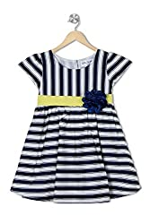 Soulfairy Girls' Dress (SS16-DRSNAU-207_Navy_5-6 Years)