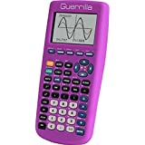 Guerrilla Silicone Case for Texas Instruments TI-83 Plus Graphing Calculator, Purple