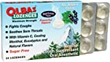 Olbas Lozenges, Sugar Free, Black Currant Flavour, 24 Lozenges