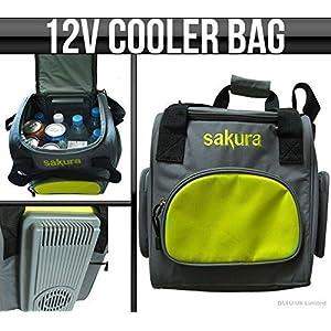 12v Sakura Portable / Travel Car Cooler Fridge Bag 14L Food & Drink