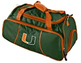 NCAA Miami Hurricanes Athletic Duffel Bag at Amazon.com