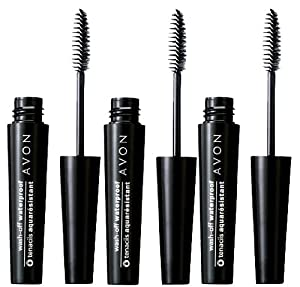 Lot of 3 - Avon Wash-off Waterproof Mascara - Black