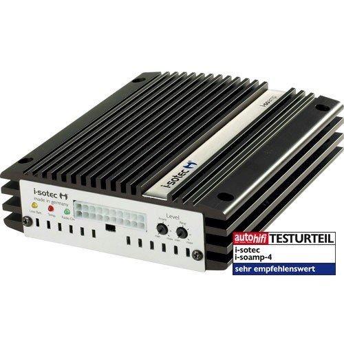 I-sotec i-soamp répétiteur 4 amplificateur 4 canaux 4 x 65 w