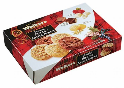 Walkers Shortbread Scottish Biscuit Assortment, 8.8-Ounce Box (Pack of 3)