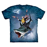 The Mountain Dubya Shark Men's Ocean Blue T-shirt