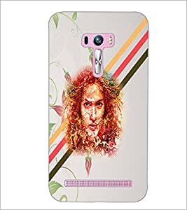 PrintDhaba Abstract Design D-5885 Back Case Cover for ASUS ZENFONE SELFIE ZD551KL (Multi-Coloured)