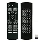 Backlit Glow Remote Control for Androind TV Box Nvidia Shield Mi Box MXQ H96 Max H96 Pro Stick MeCool Mi Box BeeLink X96 Mini Yundoo Minux U1 R99 Gem Box Wetek Core Q-Box G-Box Raspberry PI Odroid