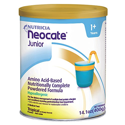 Neocate Junior, Tropical, 14.1 oz / 400 g (Case of 4 cans)