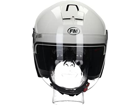 Fm rS41040XS 30492 casque jet taille xS (blanc)