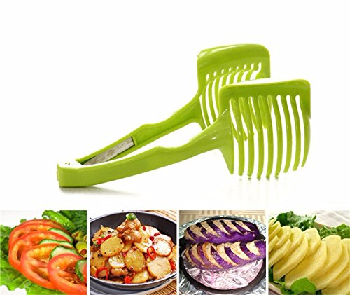 Handheld Creative Kitchen Fruit And Vegetable Slicer Orange Lemon Cutter Cake Clip Multi-function Kitchen Tool (Stanley Air Pot compare prices)