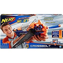 Nerf N Strike Elite Cross Bolt Blaster Get Ready To Bring Down Targets Up To 90 Away