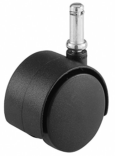 Shepherd Hardware 9741 2-Inch Office Chair Caster Wheel, 7/16-Inch Stem Diameter, 75-Lb Load Capacity