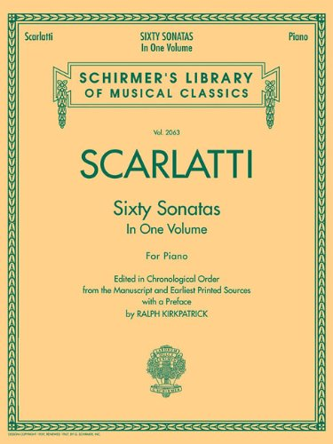 60 Sonatas, Books 1 and 2 (Schirmer's Library of Musical Classics)