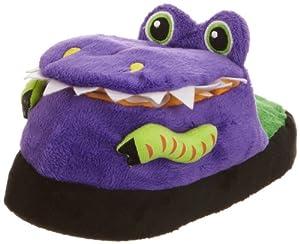 Silly Slipeez Boy's Dizzy Dinosaur Slippers