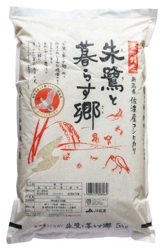 新潟県佐渡産 白米 朱鷺と暮らす郷 コシヒカリ 5kg 平成28年産