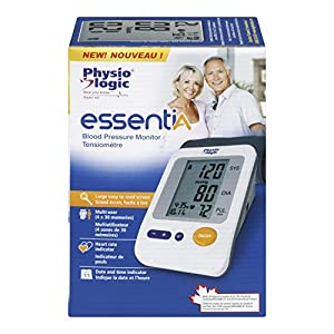 Physio Logic Essential Blood Pressure Monitor For Home Use, Automatic