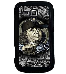 PRINTVISA Benjamin Thug Life Case Cover for Samsung Galaxy S3 Mini::Samsung Galaxy S3 Mini i8190