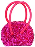Girl's Sequins and Beaded Purse with...