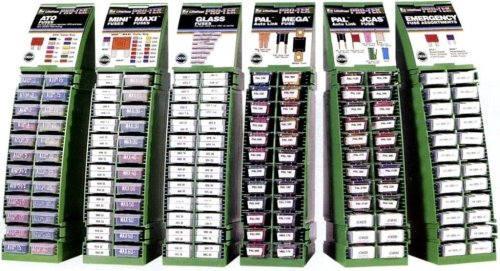 Littelfuse MRS4 PRO-TECK Modular Rack System with PAL and MEGA Fuse Assortment