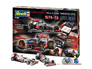 Revell Mclaren Mercedes Formula One Plastic Model Gift Set by Revell