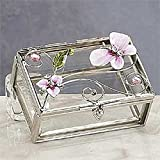 StealStreet SS-A-38108 Butterfly Decoration Jewelry Box, Pink