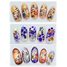 MyGal Popular Helloween Holiday Theme 3D Nail Art 3D Accessory Decals Stickers Any 4PCS,Ship as Random