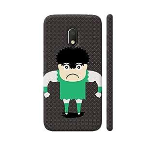 Colorpur Wrestle Small Angry Boy Artwork On Motorola Moto G4 Play Cover (Designer Mobile Back Case) | Artist: Designer Chennai