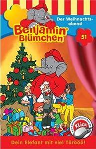 Benjamin Bluemchen - Folge 51: Der Weihnachtsabend [Musikkassette] [Musikkassette]
