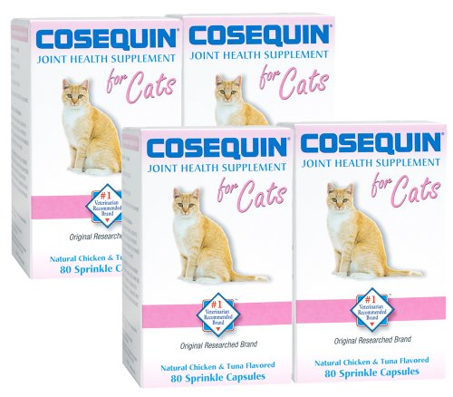 review nutramax cosequin for cats 4 pack cat bone and. Black Bedroom Furniture Sets. Home Design Ideas