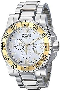 Invicta Men's 80706 Excursion Analog Display Swiss Quartz Silver Watch