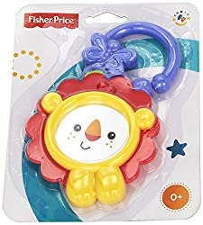 Fisher Price Lion Mirror - Full Bister Peg Card, Yellow