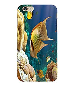 printtech Fish Coral Seawater Back Case Cover for Apple iPhone 6 Plus