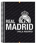Real Madrid - Bloc A4 micro, 120 hojas (Safta 511557064)