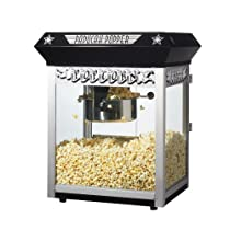 Great Northern Popcorn Black Paducah 8 Ounce Bar Style Antique Popcorn Machine
