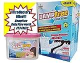 Dampfree Hanging Moisture Absorber 4Pack